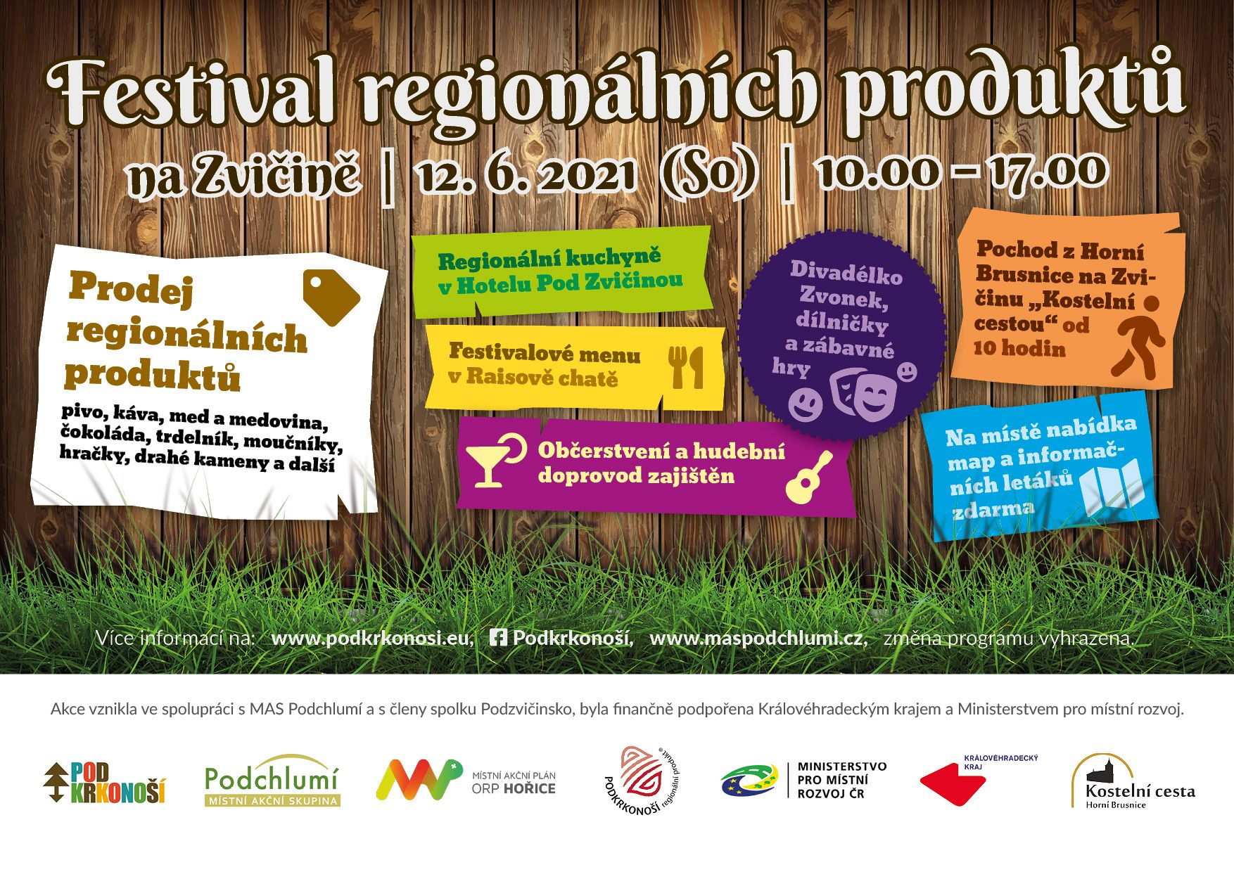 Festival regionálních produktů na Zvičině